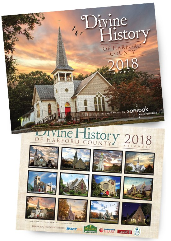 Divine History of Harford County 2018 Calendar