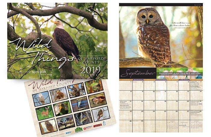 Wild Things of Harford County 2019 Calendar
