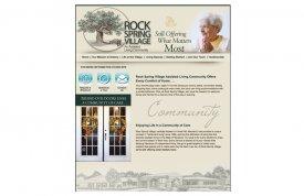 Rock Spring Village Web Site