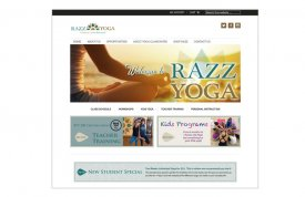 Razz Yoga Web Site