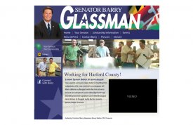 Barry Glassman – Senator Web Site