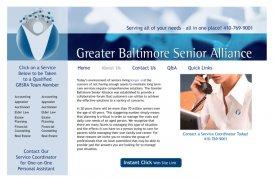 Greater Baltimore Senior Alliance Web Site