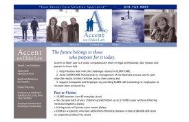 Accent on Elder Law Web Site