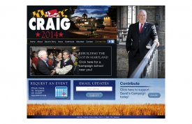 David Craig 2014 Web Site