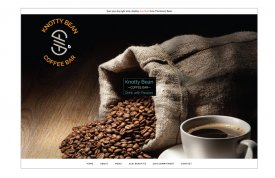 Knotty Bean Coffee Bar Web Site