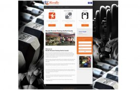 Results Personal Training Web Site