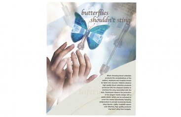 Butterflies shouldn't sting