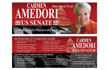 Carmen Amedori – US Senate