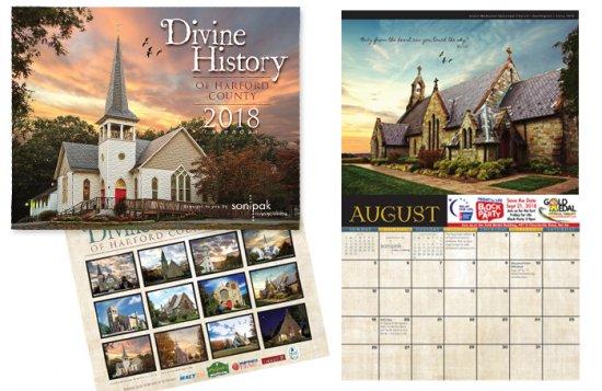 Divine History 2018 Calendar