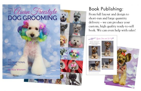 The Art of Asian Freestyle Dog Grooming Book