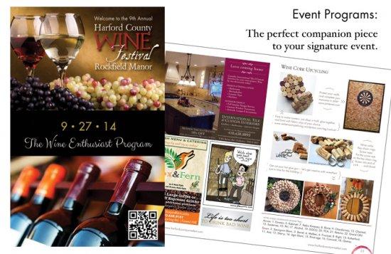 Harford County Wine Festival Program