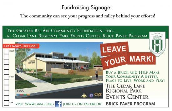 Fundraising Signage
