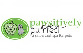 Pawsitively Purrfect Logo