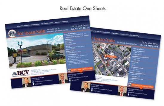 Real Estate One Sheets